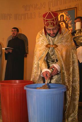 Армянская церковь отмечает Рождество и Крещение Христово